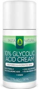 InstaNatural - 10% glycolic acid peel