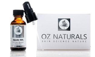 OZ Naturals 50 glycolic acid peel