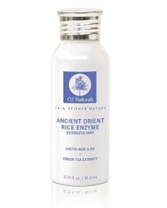 Natural organic exfolitor - OZ Naturals Facial Scrub