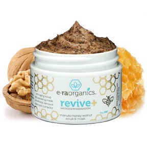 Era Organics microdermabrasion scrub and mask - best exfoliating facial scrubs