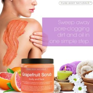 Grapefruit Exfoliating Face and Body Scrub