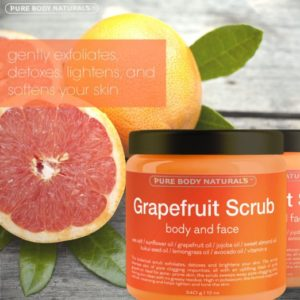 Grapefruit Facial Scrub