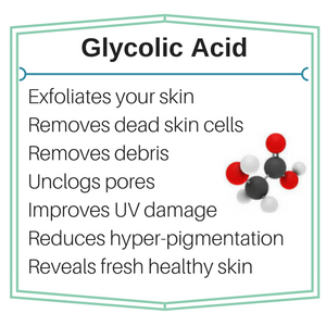 benefits of glycolic acid for skin exfoliation
