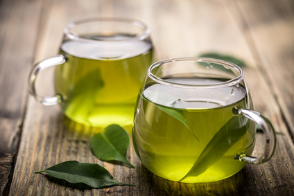 Green tea for healthy skin