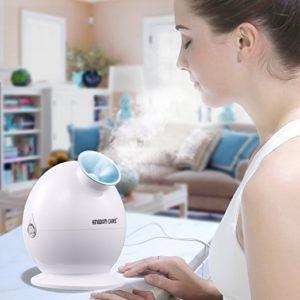 Kingdomecares ionic spa facial steamer