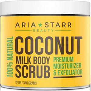 Aria Starr Coconut Milk Exfoliating Body Scrubs