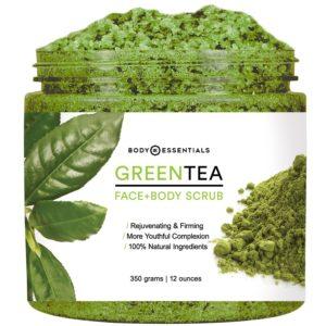 Body Essentials Green Tea Scrub