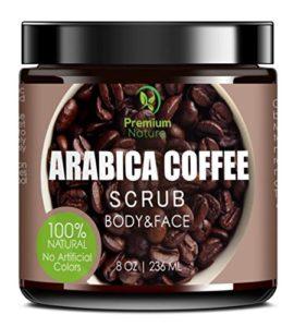 Exfoliating Coffee Body Scrub by Premium Nature