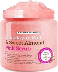 Himalayan Salt Exfoliating Body Scrub by Pure Body Naturals