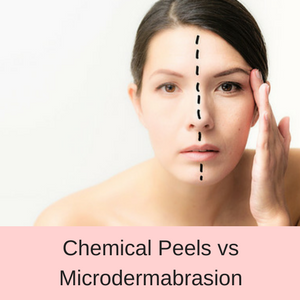 Chemical Peels vs Microdermabrasion