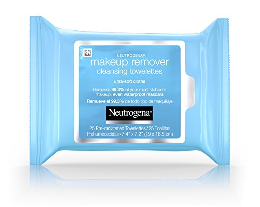 Radiant Skin Care Tool Box - Neutrogena Makeup Cleansing Towelettes